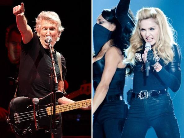 Roger Waters a Madonna: rinuncia a Eurovision in Israele