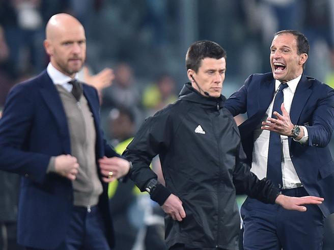 E il calcio «populista» di Allegri fu sconfitto da quello «europeista» di Ten Hag