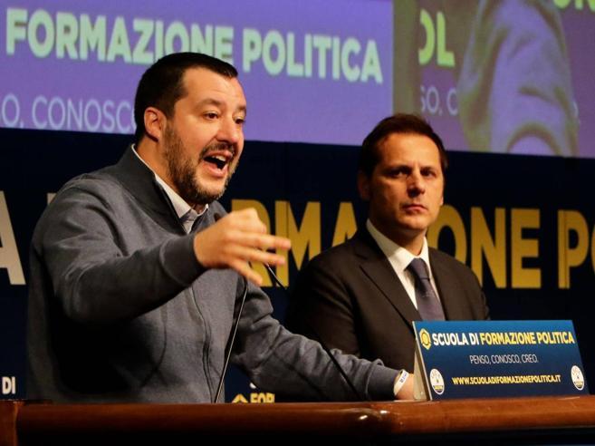 I «sospetti» di Di Maio su Siri. E Salvini a Conte: ma che state facendo?
