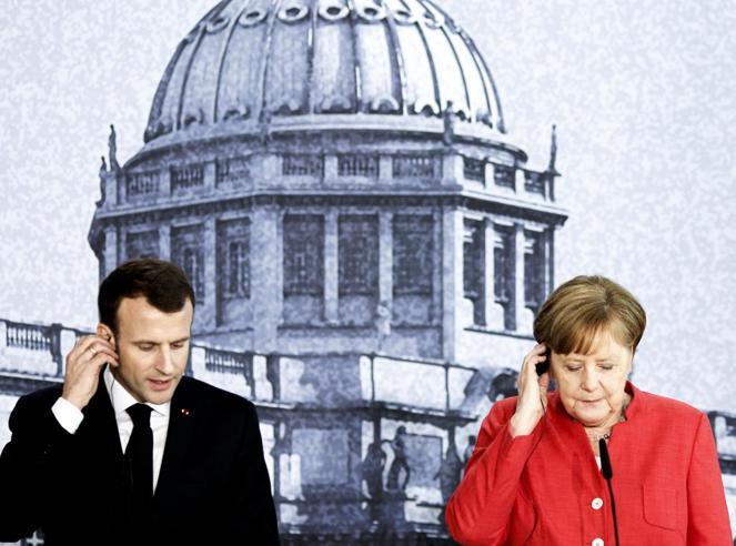 Il grande freddo tra Merkel e MacronL'ultima frattura causata dalla Brexit