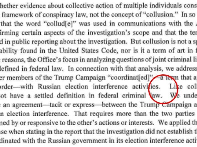 Chi ha scritto il rapporto Mueller? La pista in un indizio. Tipografico
