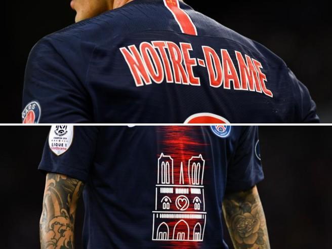 Francia, il Psg vince l'ottavo scudetto: l'omaggio a Notre Dame sulle maglie