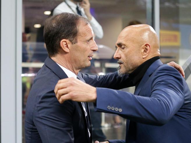 Il dopo Inter-Juve. Allegri zittisce Adani, Spalletti: «Io qui 100 anni»
