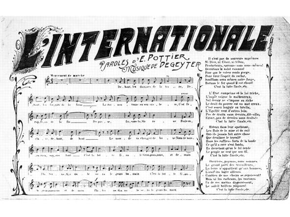 Risultati immagini per l'Internazionale comunista e socialista immagini