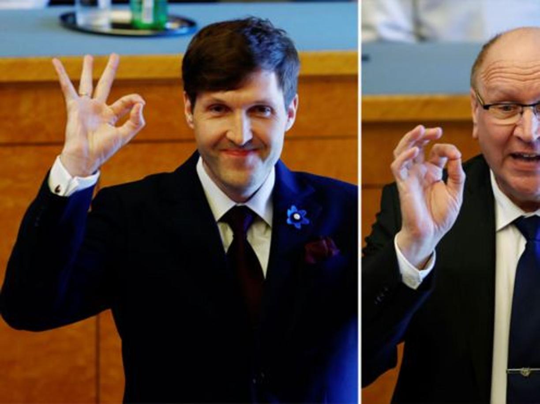 L'Estonia «bianca» di padre e figlio Helme