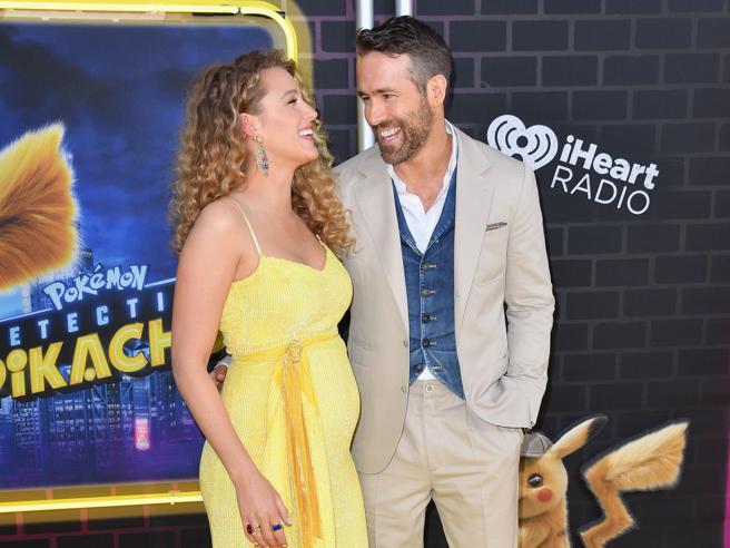 Blake Lively incinta del terzo figlio alla prima del film «Pokemon Detective Pikachu» a New York
