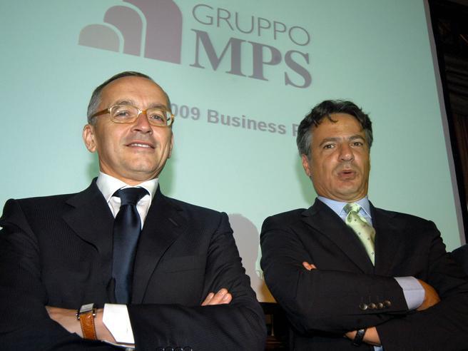 Mps |  al processo derivati chiesti 8 anni per Mussari  Maxi confische per Deutsche e Nomura