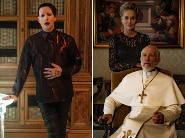 «The New Pope», ci sono anche Marilyn Manson e Sharon Stone