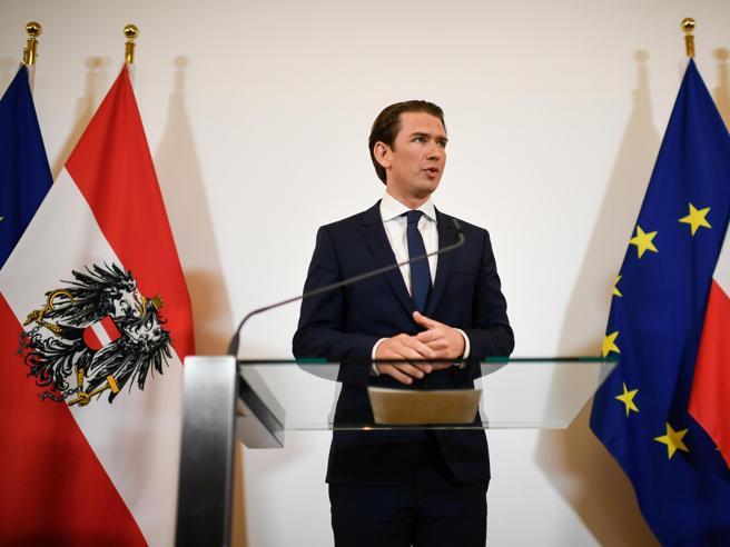 Si aggrava la crisi in Austria: si dimettono tutti  i ministri  del partito  sovranista Video