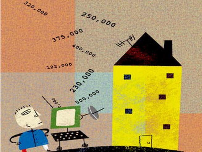 Case in vendita: crollano i prezzi (ma non a Milano)