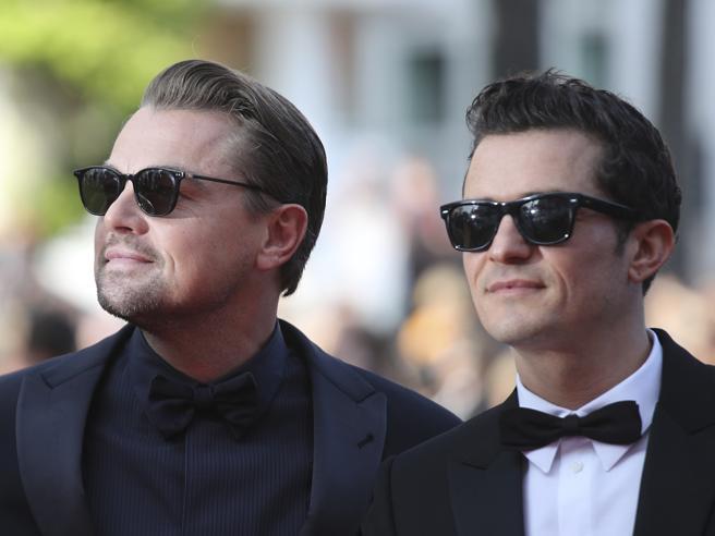 Cannes 2019, il red carpet del 23 maggio per il film «Il traditore»: la coppia DiCaprio-Bloom ruba la scena a Favino