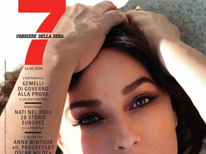 Su 7 oggi in edicola Monica Bellucci: «Il mio nuovo amore ha 37 anni» | Il video