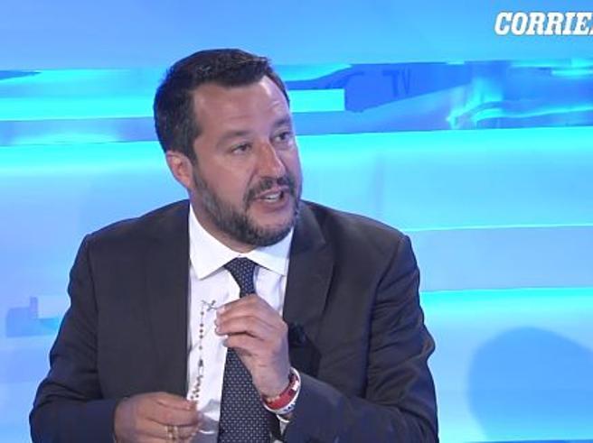 Salvini a CorriereLive: «Non c'è nuova TangentopoliSe vinciamo la Tav si fa» Video