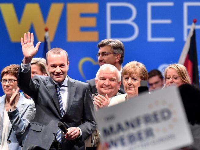 I dolori del giovane Weber, candidato del mondo antico