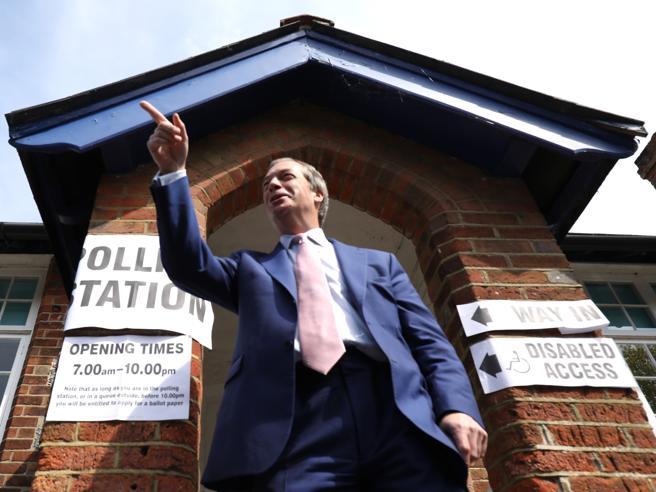 Europee, in Gran Bretagna trionfa Farage: Pro Brexit primo partito .