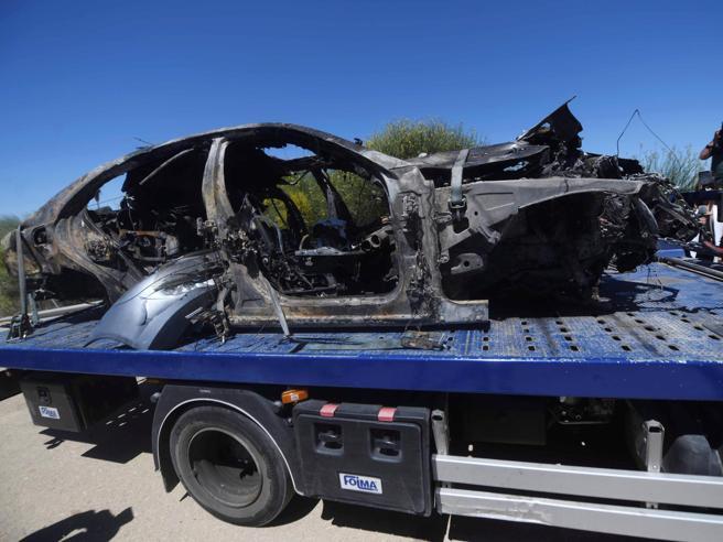 Reyes è uscito di strada mentre la sua auto andava a 237 km/h
