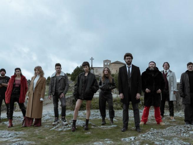 La casa di carta il trailer della terza stagione for La casa di carta stagione 3