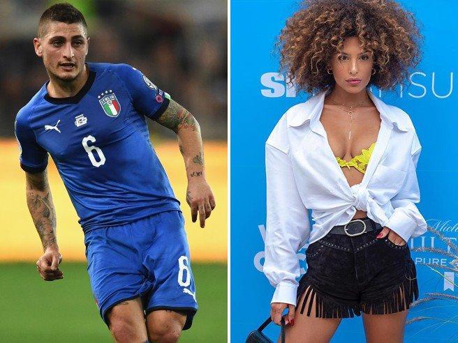 Il calciatore Marco Verratti lascia la moglie per la modella Jessica Aidi