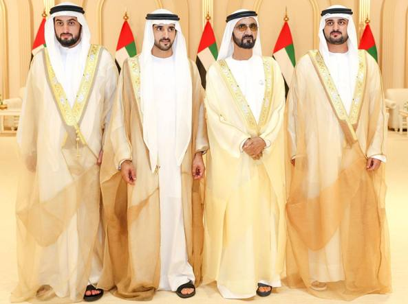 Matrimonio Con Uomo Con Figli : Dubai le nozze dei figli dellemiro alla festa invitati solo gli