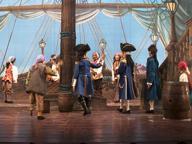 L'isola del tesoro: attori di legno nel mondo dei pirati
