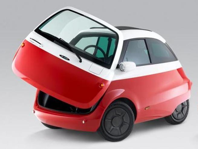 Microlino, l'erede elettrica della bubble car Isetta