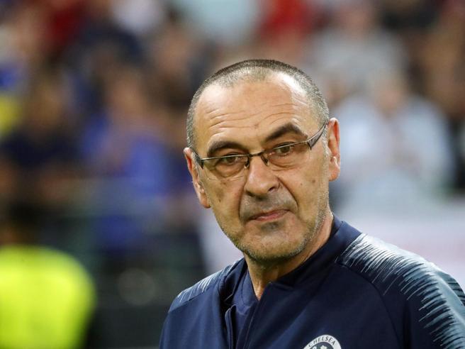 Maurizio Sarri è il nuovo allenatore della Juventus, per lui un triennale
