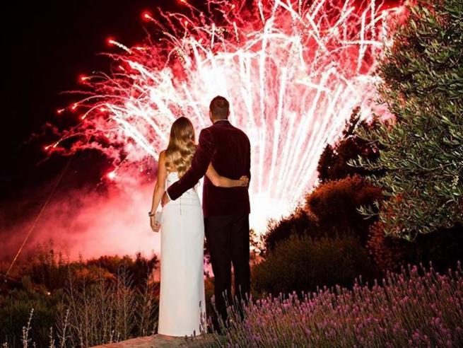 Caroline Wozniacki, le nozze da favola in Toscana (con Serena Williams damigella d'onore)