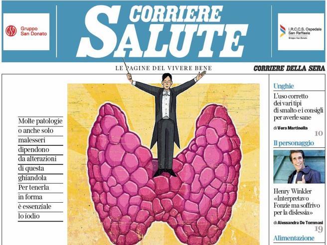 Sul Corriere Salute gratis giovedì: «Tiroide, i segni che svelano se non funziona bene»