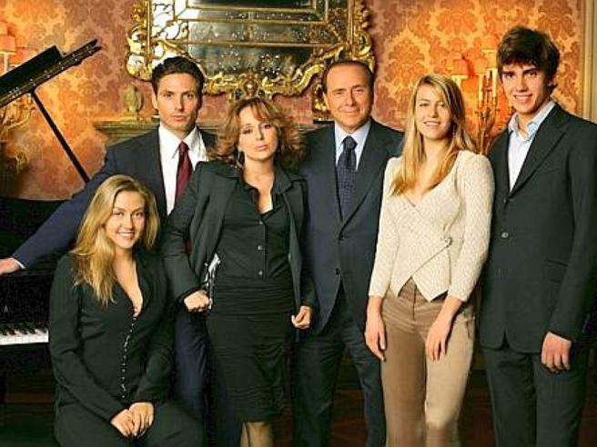 Il «tesoro» da 100 milioni di euro della famiglia Berlusconi
