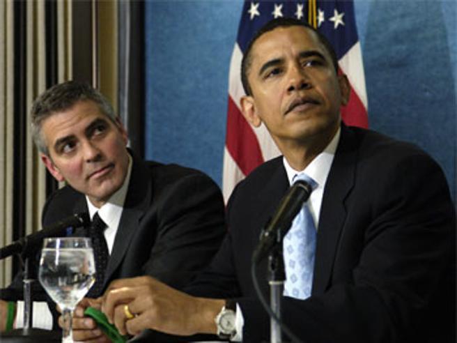 Michelle e Barack Obama ospiti di  Clooney: Laglio diventa una fortezza Foto