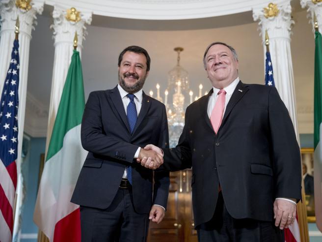 Salvini a Washingtonavverte l'Europa:manovra trumpianae avremo la flat tax