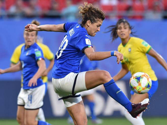 Italia-Brasile 0-1, k.o. indolore Le azzurre agli ottavi da prime nel girone
