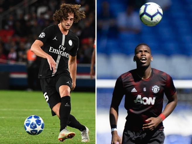 Juventus, arriva uno tra Pogba e Rabiot. Milan, visite mediche per Krunic