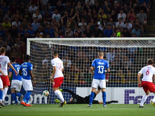 Europeo Under 21, Italia-Polonia 0-1, per gli azzurrini la strada è in salita