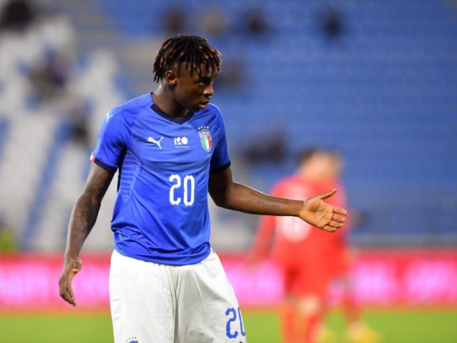 Europei Under 21, Kean fuori da Italia-Belgio per motivi disciplinariLa partita in diretta