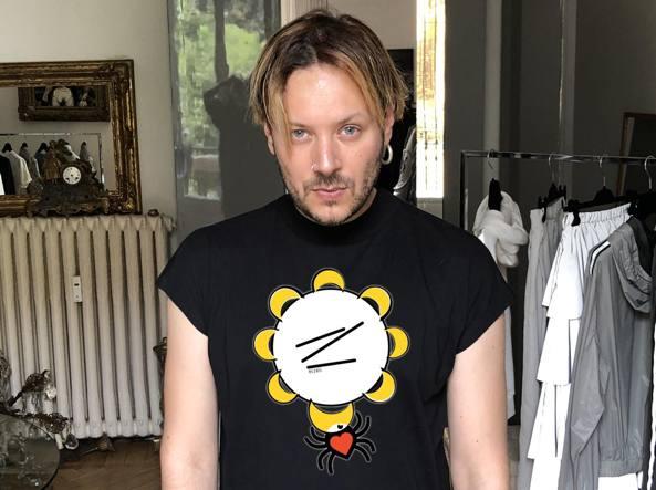 low priced db23a 11424 Angelo Cruciani disegna la t-shirt per la Notte della ...
