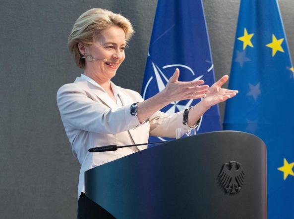 Ursula von der Leyen  nel 2019