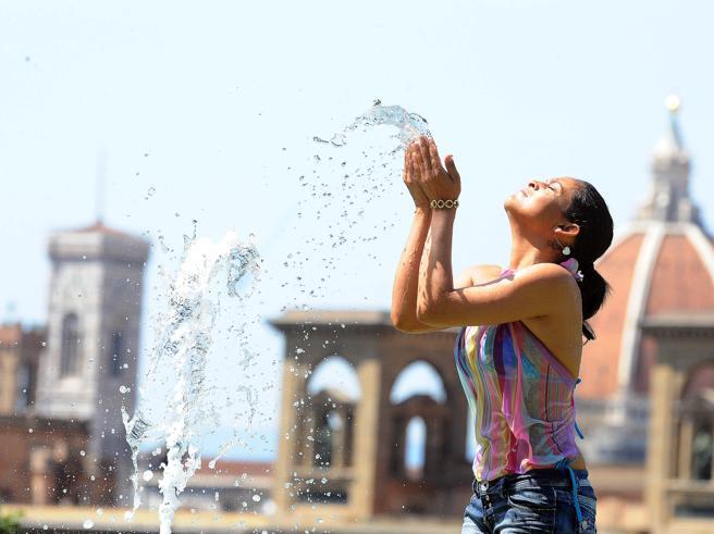 Il potere dell'acqua (contro il caldo)