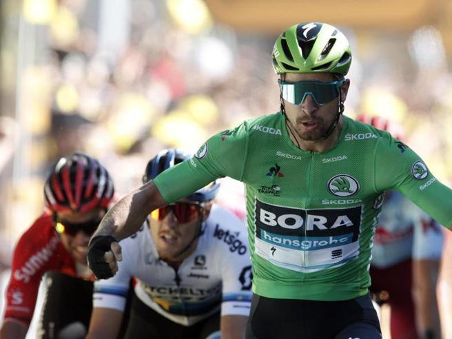 Tour de France, Sagan vince e torna ad essere l'«Incredibile Hulk»