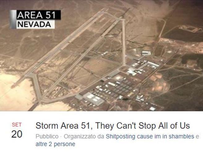 Area 51, in 800 mila pronti a entrare nella base americana per «vedere gli alieni»