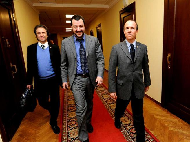 Salvini, Savoini e la cena a Mosca alla vigilia del Metropol