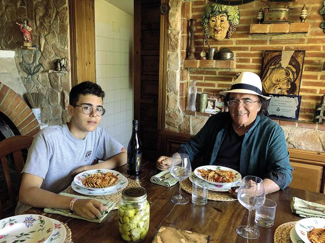 I fusilli a casa Carrisi. «Mio papà Al Bano? In cucina lui è