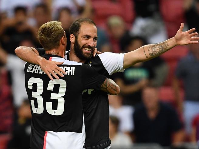 Juventus-Tottenham 2-3: capolavoro di Kane al 92', Higuain gol e fascia da capitano