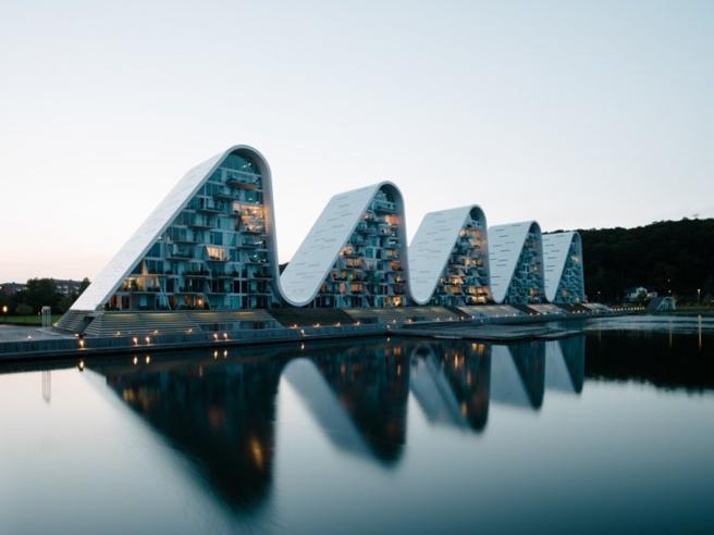 Le onde di cemento, il ristorante a «cm 0» e gli altri progetti di architettura più innovativi