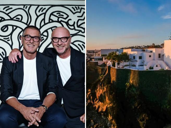 Dolce e Gabbana, in vendita la villa di lusso sull'isola di Stromboli