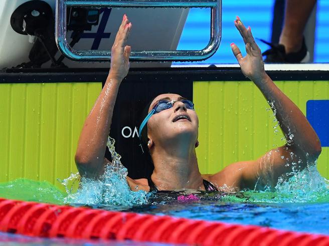 Mondiali di nuoto a Gwangju: Quadarella oro nei 1500 stile libero. Bronzo di Carraro nei 100 rana