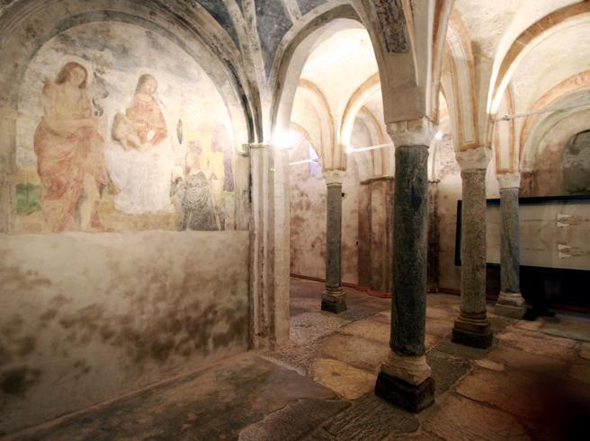 Milano, riscoperta la chiesa ipogea «segreta» di San Sepolcro