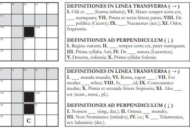 La settimana enigmistica in latino e greco, ora arriva ...