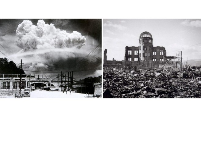Hiroshima, 6 agosto 1945 ore 8.16: Enola Gay sgancia 65 chili di uranio
