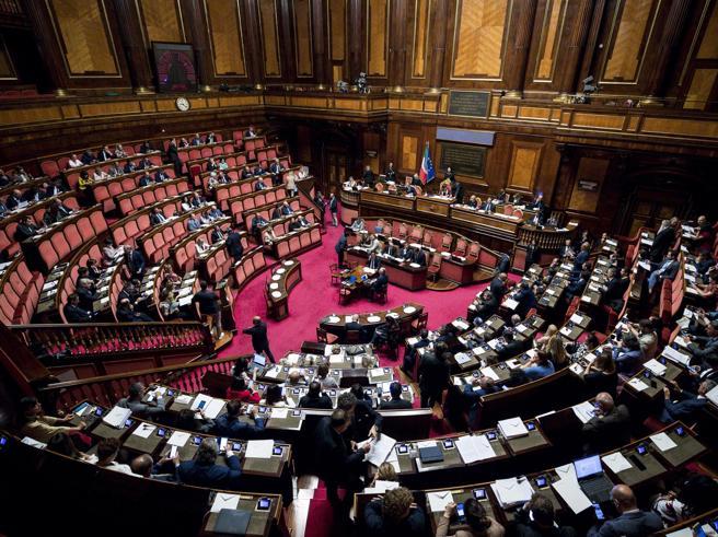 Voto Tav, Senato respinge la mozione M5S e approva quella del Pd con il sostegno della Lega. Governo diviso